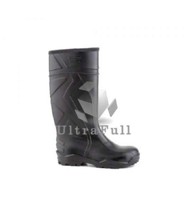 BOTA PVC VFLEX 940 PUNTA-PLANTILLA ACERO (NEGRA)