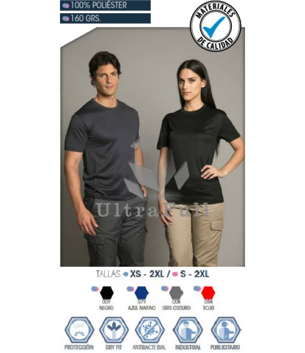 POLERA POLO DRY FIT CUELLO POLO MANGA CORTA