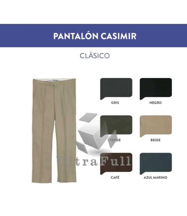 PANTALÓN CASIMIR CLÁSICO